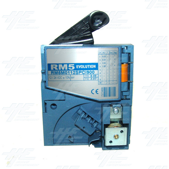 RM5 Evolution - RM5M0112SPC1900 - Electronic Coin Validator - AU - Side View 2