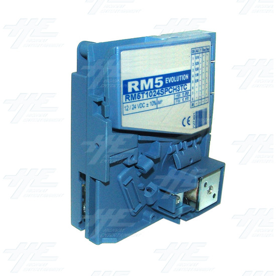 RM5 Evolution - RM5T1024SPCH3TC - Electronic Dual Price Totaliser With Timer Function - AU - Angle View