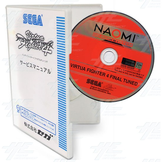 Virtua Fighter 4 Final Tuned Software Upgrade - Full View