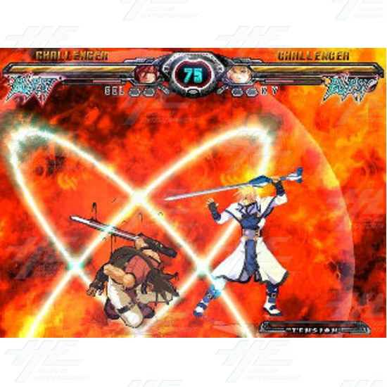 Guilty Gear XX Accent Core Kit with I/O Board - Screenshot