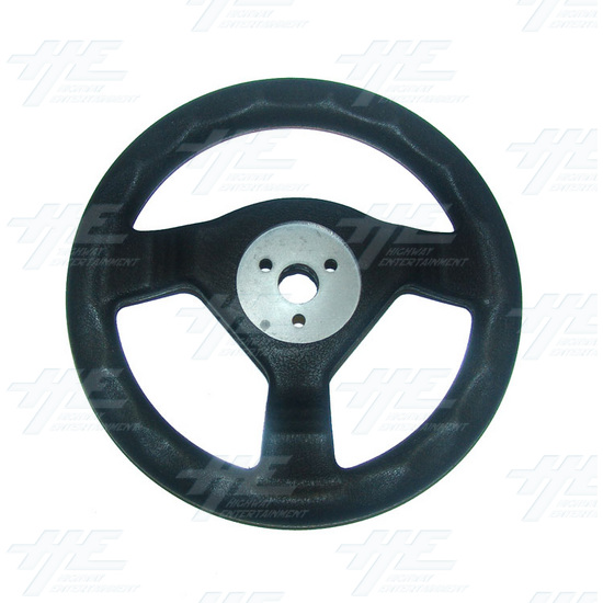 Arcade Steering Wheel - Back View