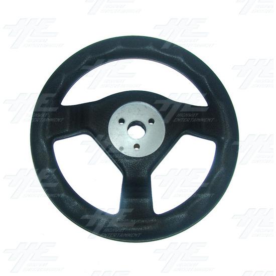 Arcade Steering Wheel - Back View