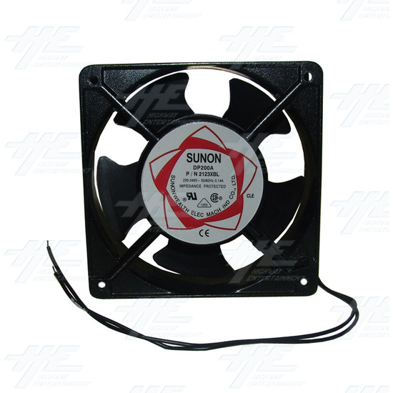 Sunon DP200A Cooling Fan For Arcade Machine - Front View