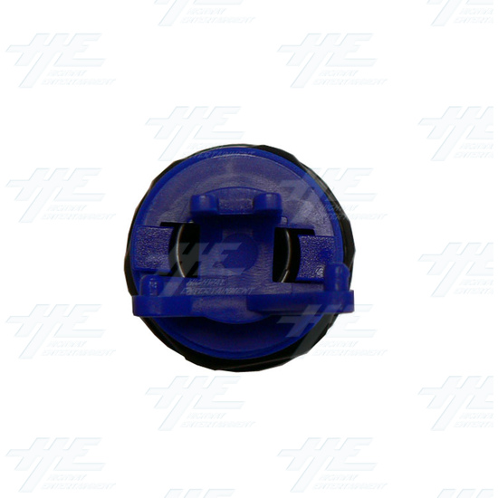 Arcade Button 35mm - Blue with microswitch - Bottom View