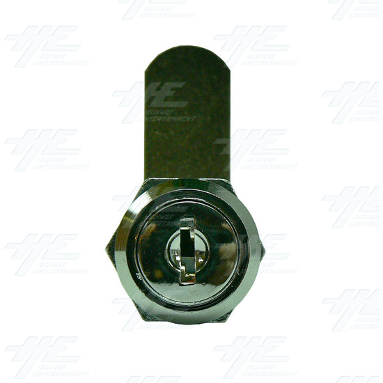 Arcade Machine Lock 16mm K001 - Front View