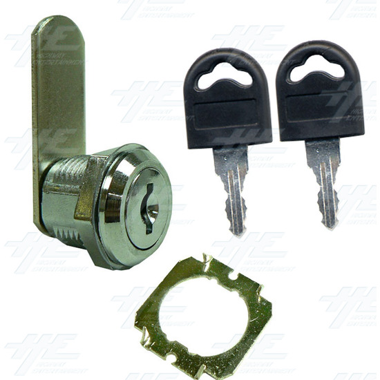 Arcade Machine Lock 16mm K001 - Full Kit