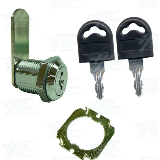 Arcade Machine Lock 20mm K002 - Full Kit