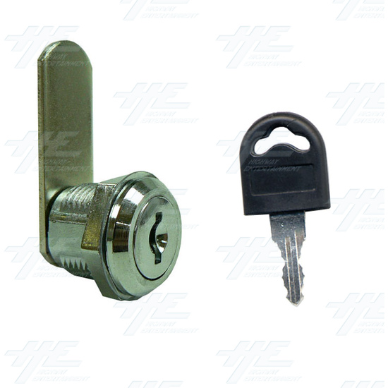 Arcade Machine Lock 16mm K001 - Lock and Key