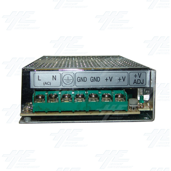 12 Volt Power Supply 9 AMP - Front View