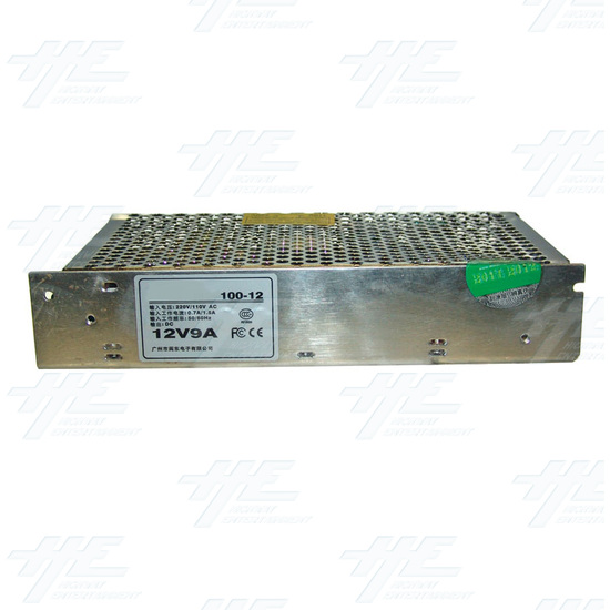 12 Volt Power Supply 9 AMP - Right View
