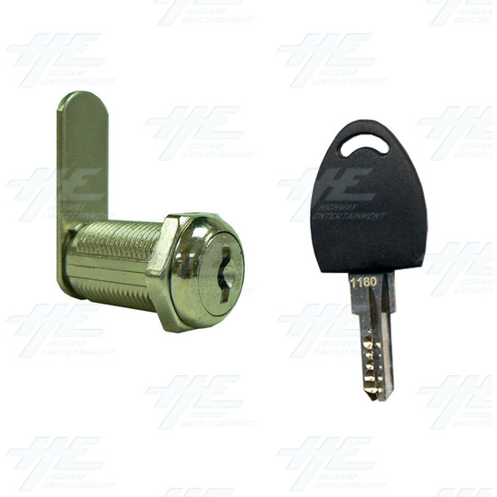 Arcade Machine Cam lock with Removable Barrel 30mm K3005 - Lock and Key