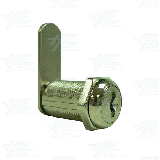 Arcade Machine Cam lock with Removable Barrel 30mm K3005 - Full View