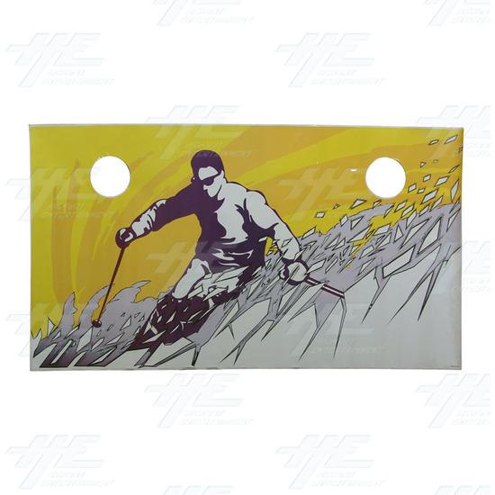 Alpine Racer Cabinet Sticker - Sticker