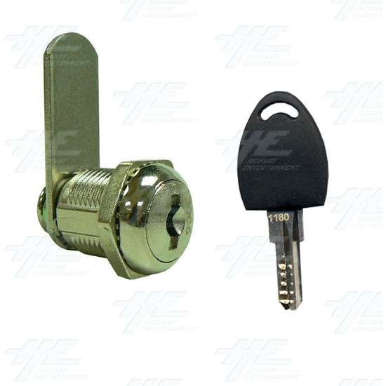 Arcade Machine Cam Lock with Removable Barrel 19mm K3003 - Lock and Key