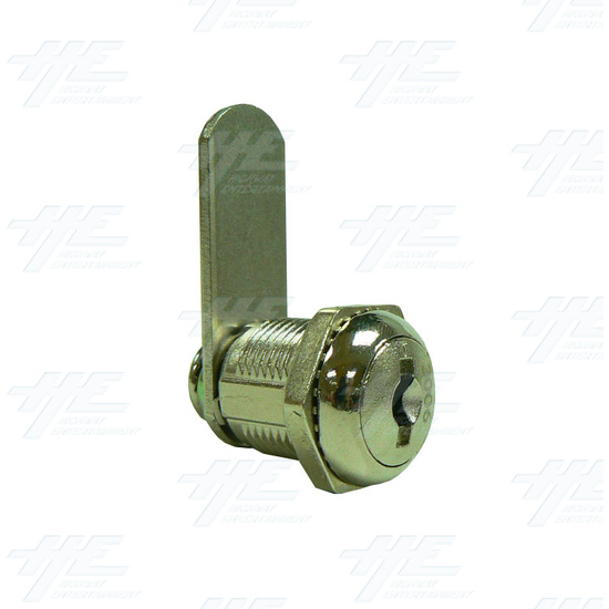 Arcade Machine Cam Lock with Removable Barrel 19mm K3003 - Full View