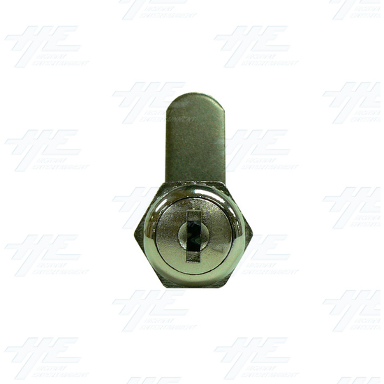 Arcade Machine Cam Lock with Removable Barrel 19mm K3003 - Front View