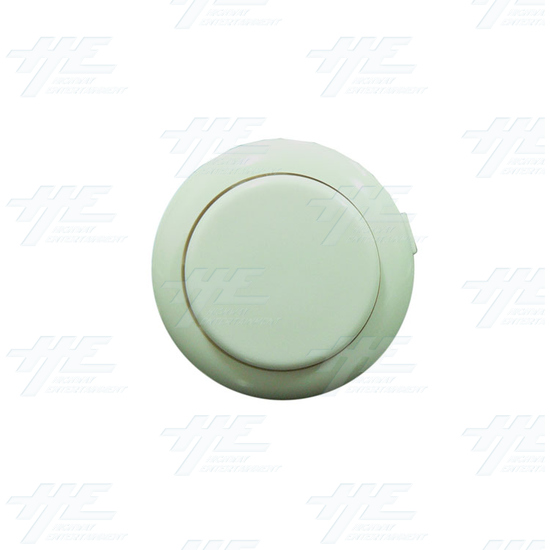 Sanwa Push Button OBSF-24 White - Top View