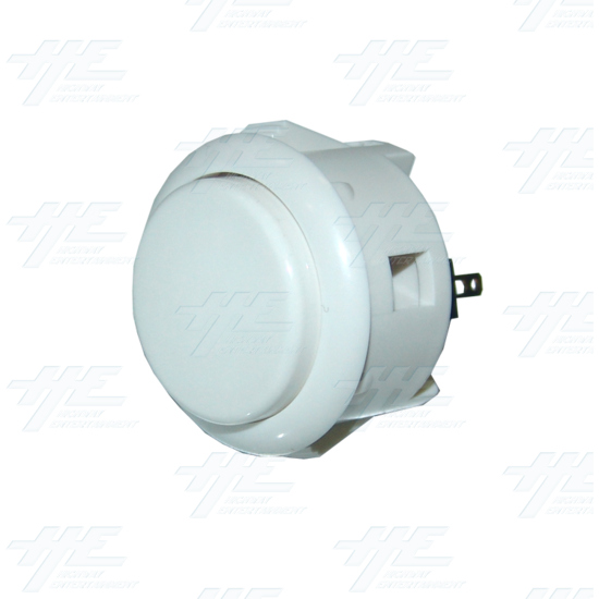Sanwa Push Button OBSF-30 White - Full View