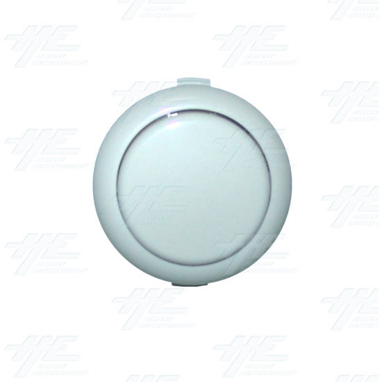 Sanwa Push Button OBSF-30 White - Top View