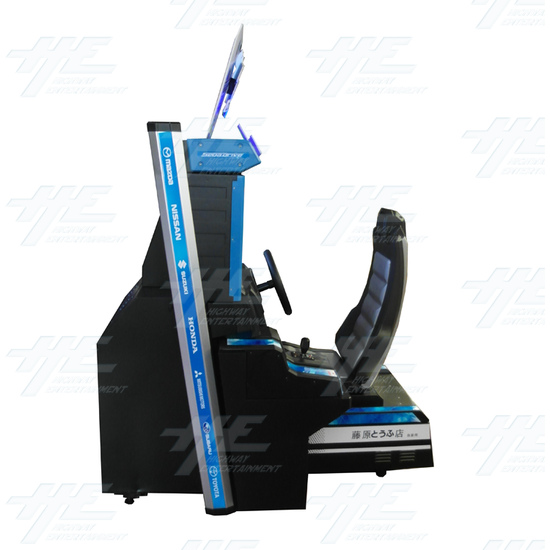 Metal Driving Arcade Cabinet Only (Initial D5 Style)  - Left View