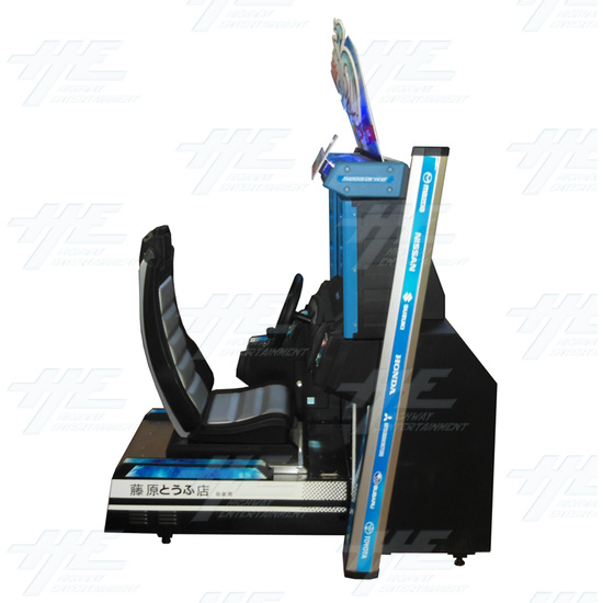 Metal Driving Arcade Cabinet Only (Initial D5 Style)  - Right View