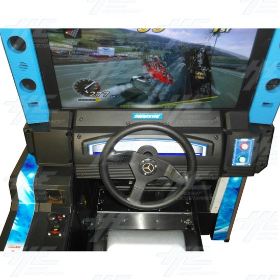 Metal Driving Arcade Cabinet Only (Initial D5 Style)  - Control Panel