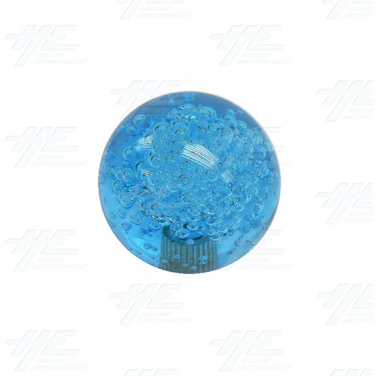 Joystick Bubble Ball Top 45mm Blue - Bubble Ball Top View