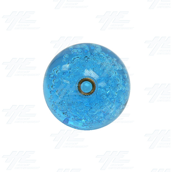 Joystick Bubble Ball Top 45mm Blue - Bubble Ball Bottom View