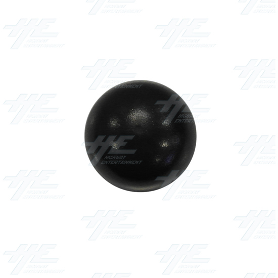 Baton Top for Arcade Joystick (Black) - Top View