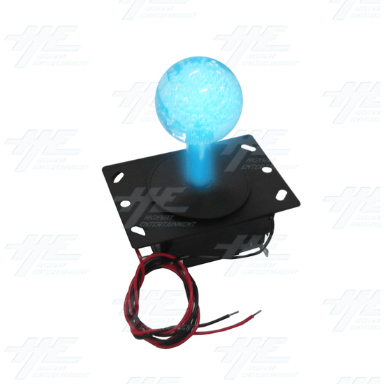 Illuminated Ball Top Joystick (Blue) - Illuminated