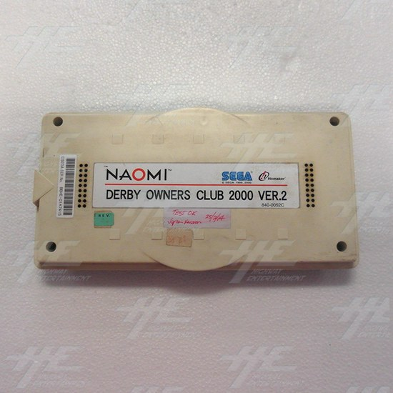 Derby Owners Club 2000 Version 2 Arcade Naomi Cartridge - Full View