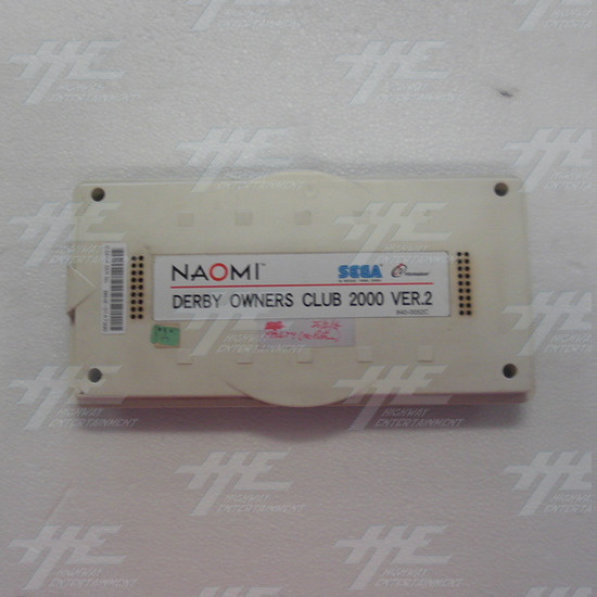 Derby Owners Club 2000 Version 2 Arcade Naomi Cartridge (Faulty) - Full View