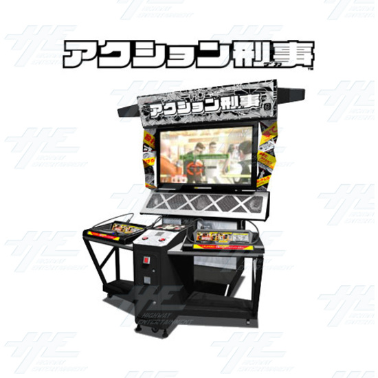 Action Deka Arcade Machine - Machine