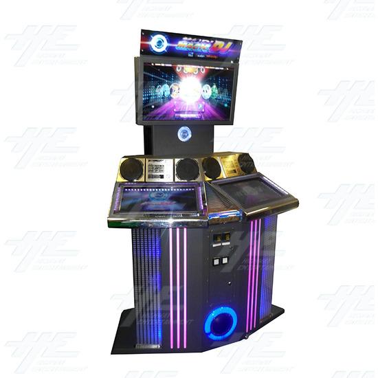 Magic DJ 3D Music Arcade Machine - Full View