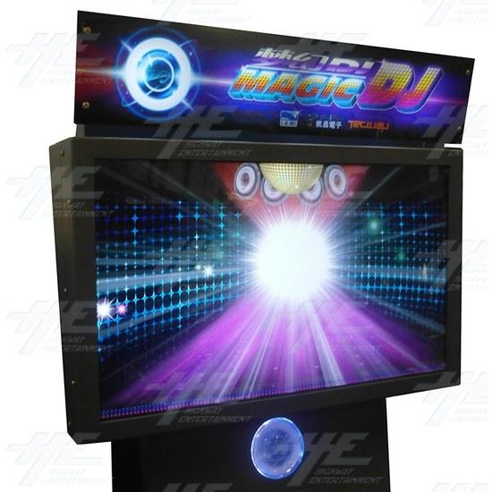 Magic DJ 3D Music Arcade Machine - Screen View