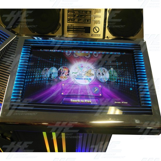Magic DJ 3D Music Arcade Machine - Right Control Panel