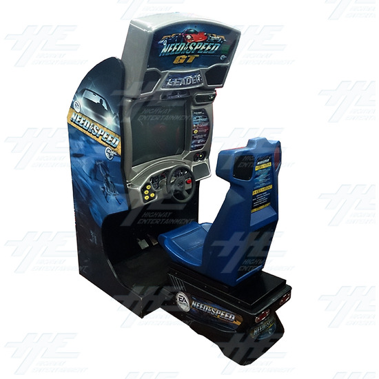 Need for Speed GT Driving Arcade Machine - Full View