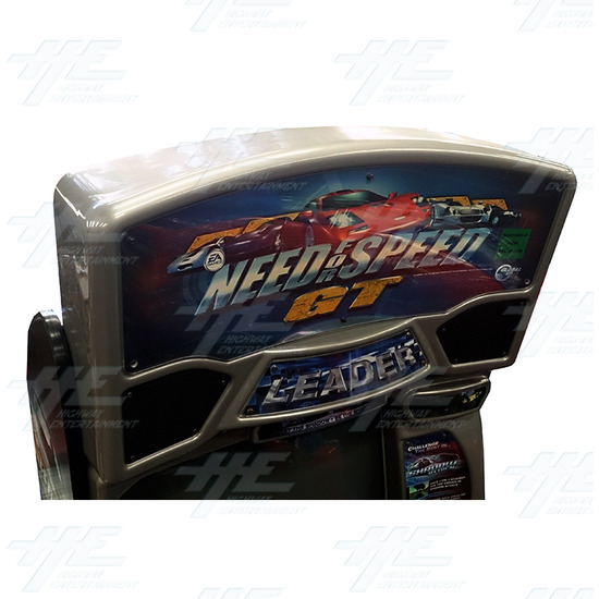 Need for Speed GT Driving Arcade Machine - Header