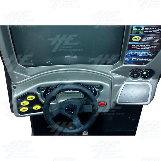 Need for Speed GT Driving Arcade Machine - Control Panel