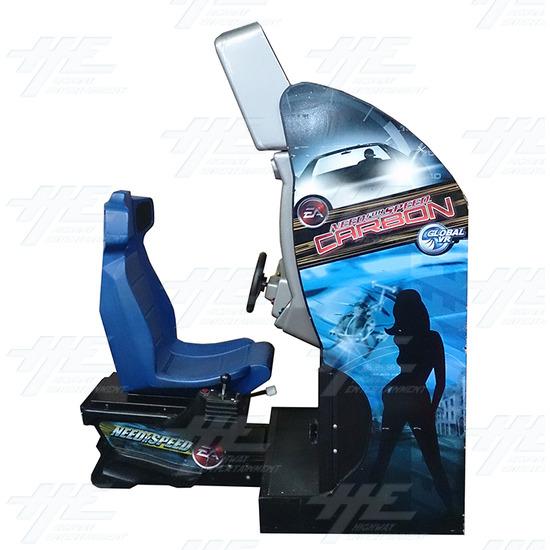 Need for Speed Underground SD Arcade Machine (Project Machine) - Side View