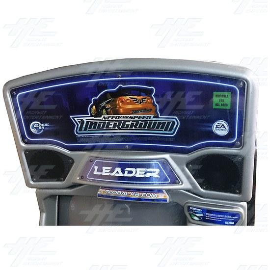 Need for Speed Underground SD Arcade Machine (Project Machine) - Header