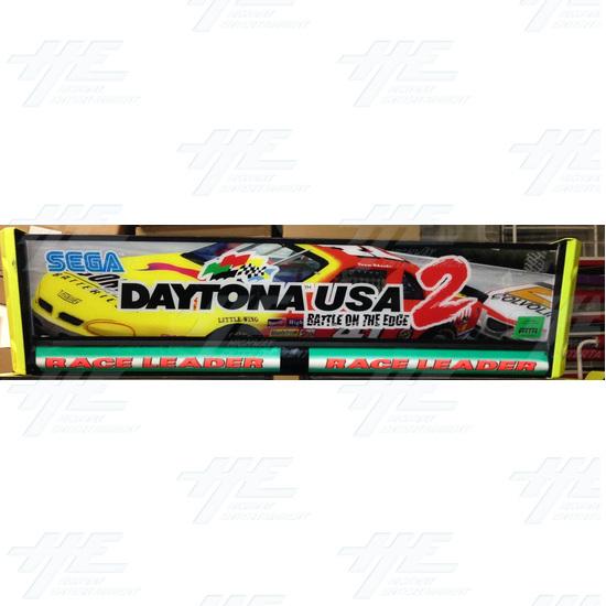 Daytona 2 USA Twin Driving Arcade Machine - Header