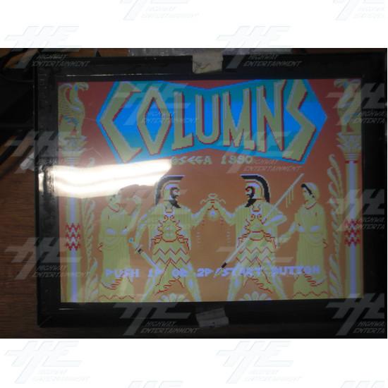 Columns Sega 1990 Arcade Game Board - View 1