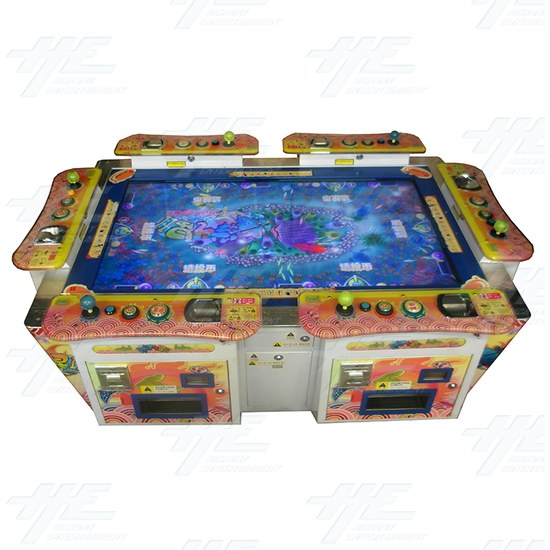 Ocean Star 2 Fish Hunter Arcade Machine (Not Working) - Top View