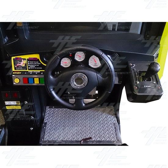 Daytona 2 USA Twin Driving Arcade Machine - Right Control Panel