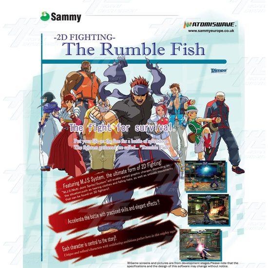 The Rumble Fish Game Board -