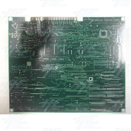 Maximum Force Game Board (Faulty) - Back View