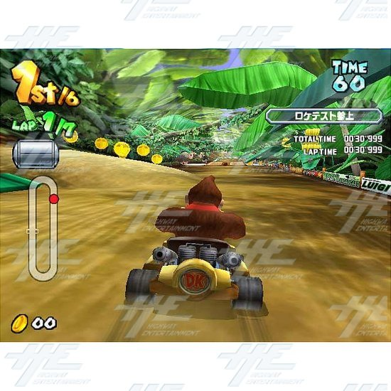 Mario Kart GP 2 Arcade Game Board (Japanese Version)  - Mario Kart Arcade GP 2