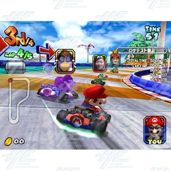 Mario Kart GP 2 Arcade Game Board (Japanese Version)  - Mario Kart Arcade GP 2