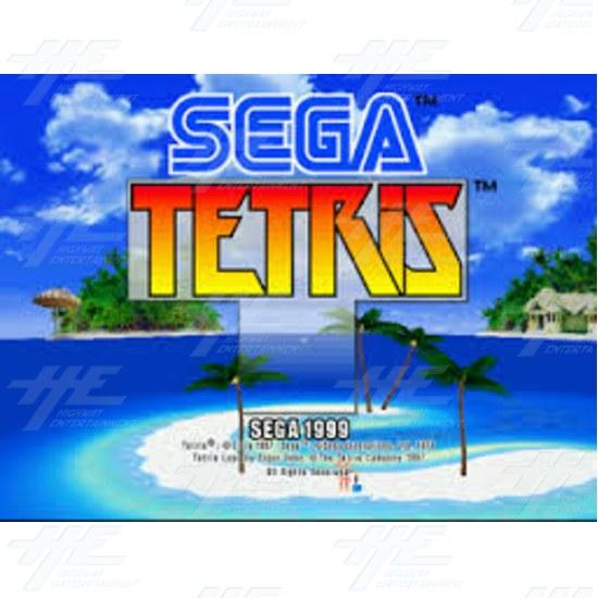 Sega Tetris Arcade Game Board with Naomi Motherboard - Sega Tetris